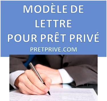Modele De Contrat De Pret Prive
